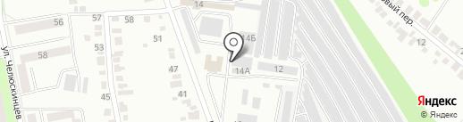 Белгородский дезинфекционный центр на карте Белгорода