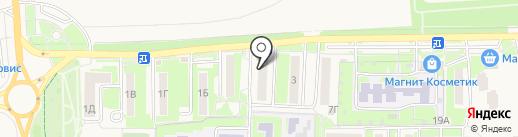 Эспрессо на карте Дубового