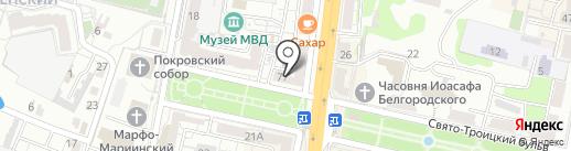 Восточный экспресс банк, ПАО на карте Белгорода