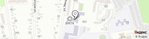 Белгородский механико-технологический колледж на карте Белгорода