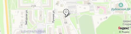 Управление социальной защиты населения Администрации Белгородского района на карте Дубового