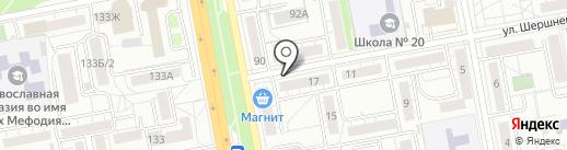 Парикмахерская №1 на карте Белгорода