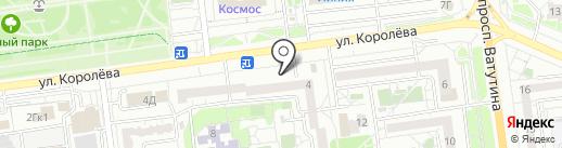 Магазин игрушек на карте Белгорода