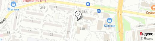 Шпилька на карте Белгорода