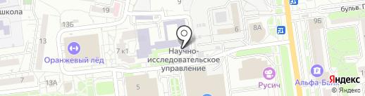 Белгородский государственный институт искусств и культуры на карте Белгорода