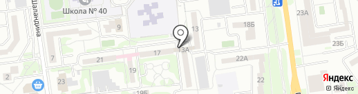 Библиотека №16 на карте Белгорода