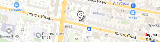 ПушкинЪ на карте Белгорода