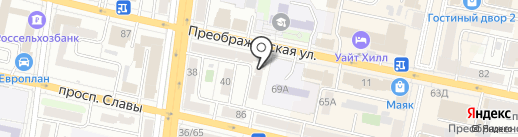 Нотариус Коренева В.Г. на карте Белгорода