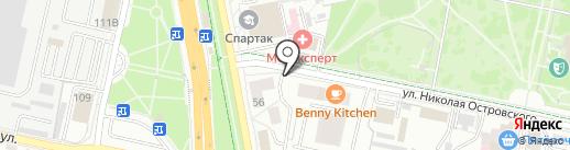 БАРИН-ТИР на карте Белгорода
