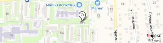 Кудряшка на карте Дубового