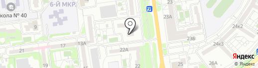 Совира на карте Белгорода