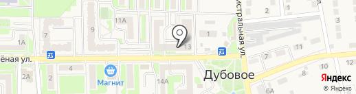 Пивной залив на карте Дубового