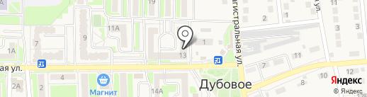 Хозяюшка на карте Дубового