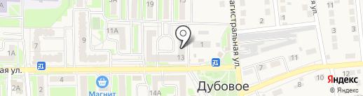 Магазин продуктов на карте Дубового