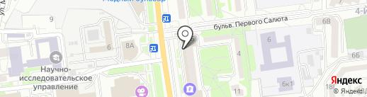 Стиль на карте Белгорода