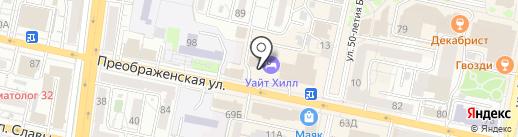 День Ночь на карте Белгорода
