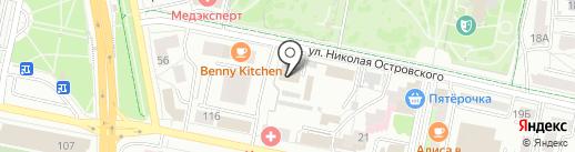 Белрегионинфо, ОГУП на карте Белгорода