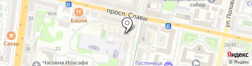 Белла Ноче на карте Белгорода
