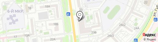 Ватутинское, ТСЖ на карте Белгорода