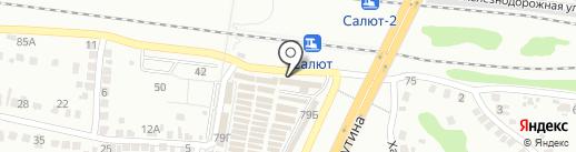 Ключики, ЗАО на карте Белгорода