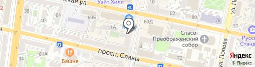 Клиника красоты на карте Белгорода
