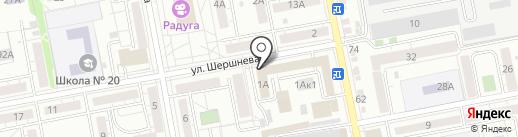 Семейные фермы Белогорья на карте Белгорода