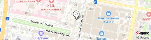 Гламур на карте Белгорода