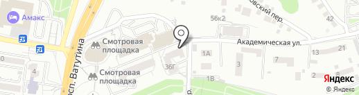 Белгородский конструкторский центр на карте Белгорода