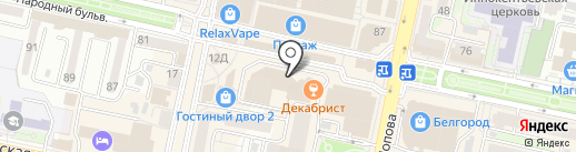 Банкомат, АКБ Металлинвестбанк, ПАО на карте Белгорода