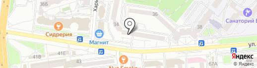 Нотариус Бондарь В.П. на карте Белгорода