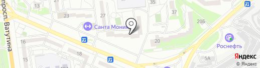 Тойс Деткам на карте Белгорода