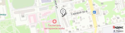 МАТЬ-И-МАЧЕХА на карте Белгорода