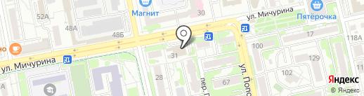 Спорт, FM 87.6 на карте Белгорода