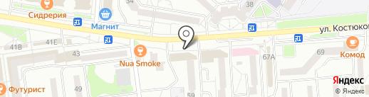 100 одёжек на карте Белгорода