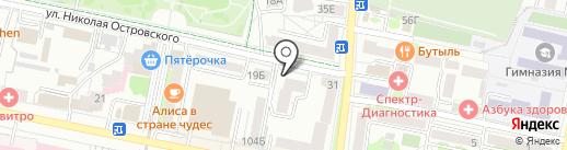 Проспект, ЗАО на карте Белгорода