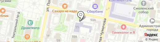 БАРС на карте Белгорода