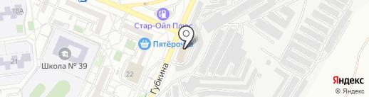 Гараж 31 на карте Белгорода