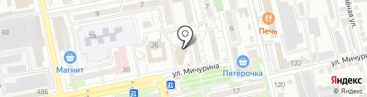Foresight на карте Белгорода