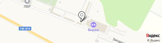 Магазин шин и дисков на карте Беломестного
