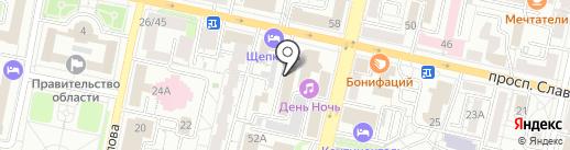 Право и бизнес на карте Белгорода