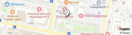 Отдел защиты прав потребителей на карте Белгорода