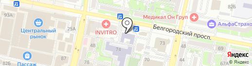 Белгородская православная духовная семинария (с миссионерской направленностью) на карте Белгорода