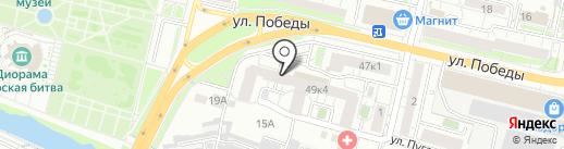 Триколор ТВ Белгород на карте Белгорода