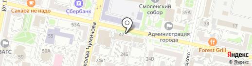 СОГАЗ на карте Белгорода