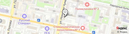 НПП КОНТАКТ на карте Белгорода