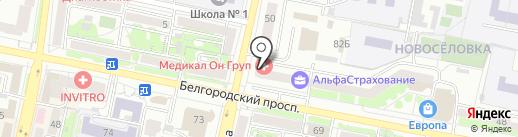 Академия Фото и Стиля на карте Белгорода