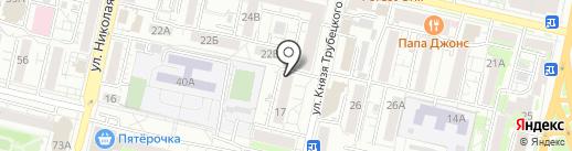 Хмель на карте Белгорода