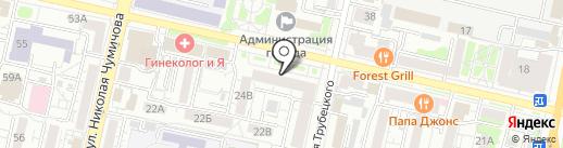 Белгородская государственная детская библиотека А.А. Лиханова на карте Белгорода
