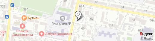 Шоко-Лавка на карте Белгорода