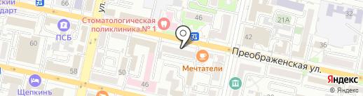 Монумент-арт на карте Белгорода